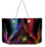 We Two Are One Oil Weekender Tote Bag