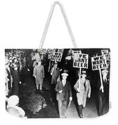 We Want Beer Weekender Tote Bag
