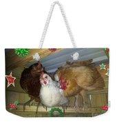 We Wish You A Merry Christmas Weekender Tote Bag