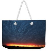 Weaking Cells Made For A Perfect Mammatus Sunset Weekender Tote Bag