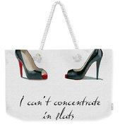 Wear The Right Shoes Weekender Tote Bag
