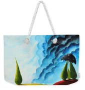 Weather Change Weekender Tote Bag