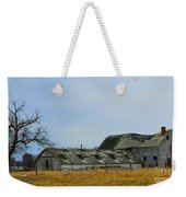 Weathered Barns Weekender Tote Bag by Alys Caviness-Gober