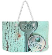 Weathered Love Weekender Tote Bag