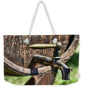 Weathered Tap And Barrel Weekender Tote Bag by Paul Ward