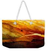 Weathered Wood Landscape Weekender Tote Bag