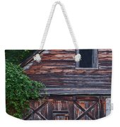Weathered Wood Weekender Tote Bag