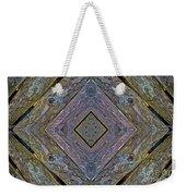 Weathered Wood Tiled IIi Weekender Tote Bag
