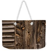 Weathered Wooden Abstracts - 3 Weekender Tote Bag