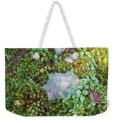 Web In Moss Weekender Tote Bag