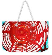 Web Of Life Original Painting Weekender Tote Bag