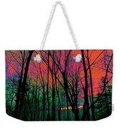 Webbs Woods Sunset Weekender Tote Bag