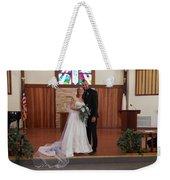 Wedded Weekender Tote Bag