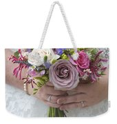 Wedding Bouquet Weekender Tote Bag