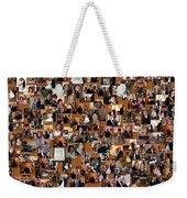 Wedding Collage Weekender Tote Bag