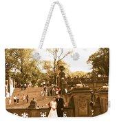 Wedding In Central Park Weekender Tote Bag