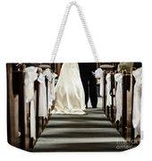 Wedding In Church Weekender Tote Bag