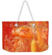 Wedding Joy Greeting Card - Turks Cap Lilies Weekender Tote Bag