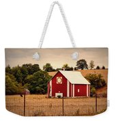 Wedding Ring Quilt Barn Weekender Tote Bag by Cricket Hackmann