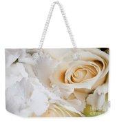 Wedding White Flowers Weekender Tote Bag