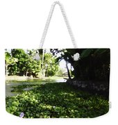 Weeds Plants Boats And Lots Of Greenery Weekender Tote Bag