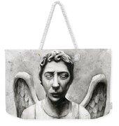 Weeping Angel Don't Blink Doctor Who Fan Art Weekender Tote Bag