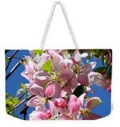 Weeping Cherry Tree Blossoms Weekender Tote Bag by Carol Groenen