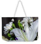 Weeping Lily Weekender Tote Bag