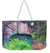 Weeping Rock At Zion National Park Weekender Tote Bag