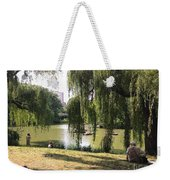 Weeping Willows In Central Park  Weekender Tote Bag