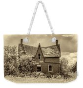 Weight Of The World - Antique Sepia Weekender Tote Bag