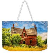 Weight Of The World Paint 2 Weekender Tote Bag