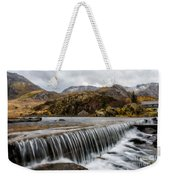 Weir At Ogwen Weekender Tote Bag