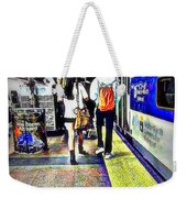 Welcome Aboard Weekender Tote Bag