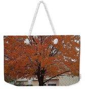 Welcome Fall Weekender Tote Bag