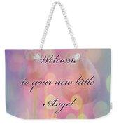 Welcome New Baby Greeting Card - Tulips Weekender Tote Bag