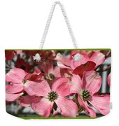 Welcome Spring Collage Weekender Tote Bag