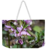 Welcome Spring Flowers Weekender Tote Bag