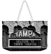 Welcome Tampa Weekender Tote Bag