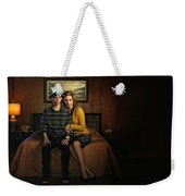 Welcome To Bates Motel Weekender Tote Bag