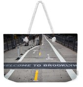 Welcome To Brooklin Weekender Tote Bag