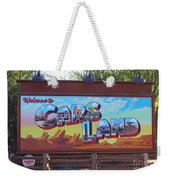 Welcome To Cars Land Weekender Tote Bag