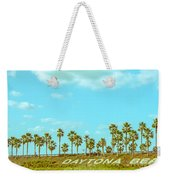 Welcome To Daytona Beach Weekender Tote Bag