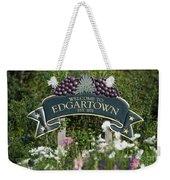 Welcome To Edgartown Weekender Tote Bag