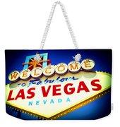 Welcome To Fabulous Las Vegas Weekender Tote Bag