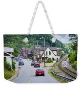 Welcome To Marshall Weekender Tote Bag