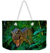 Welcome To My Park Tyrannosaurus Rex Weekender Tote Bag