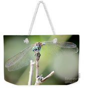 Welcome To My World Dragonfly Weekender Tote Bag