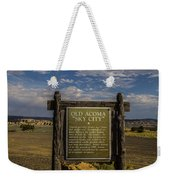Welcome To Old Acoma Weekender Tote Bag