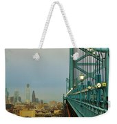 Welcome To Philly Weekender Tote Bag